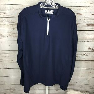 New Balance Mens Half Zip Athletic Pullover Size X